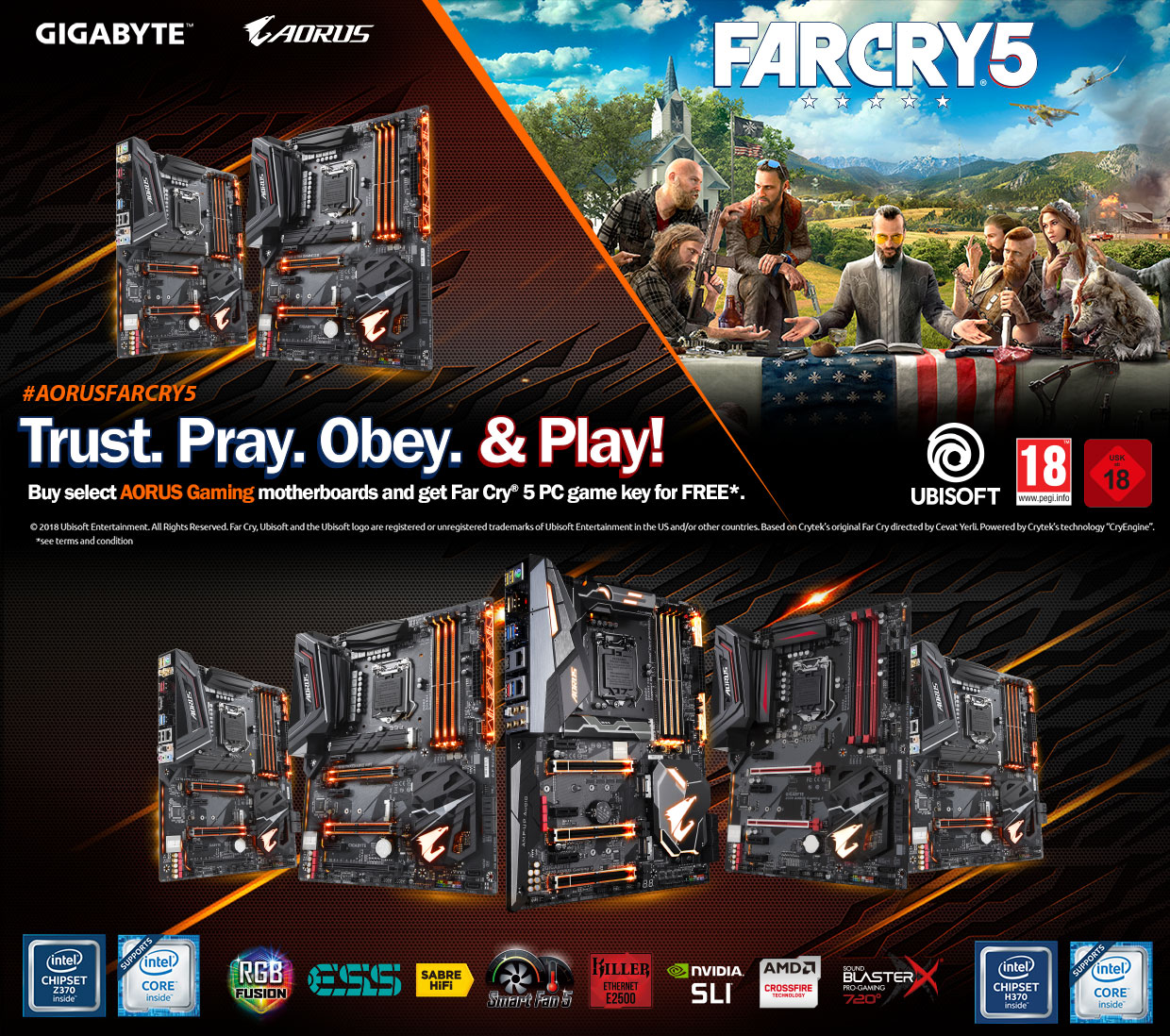 farcry5promotiongigabyte Falcon Computers