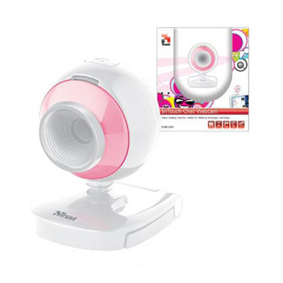 Trust  Pink Intouch Chat USB2 Webcam - Clearance Sale