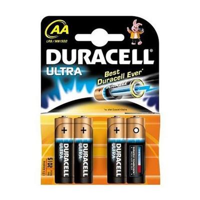 Duracell  ULTRA AA BATTERIES 4 PACK