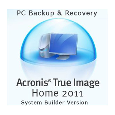 Acronis  PC Backup + Recovery Software - System Builder Edition