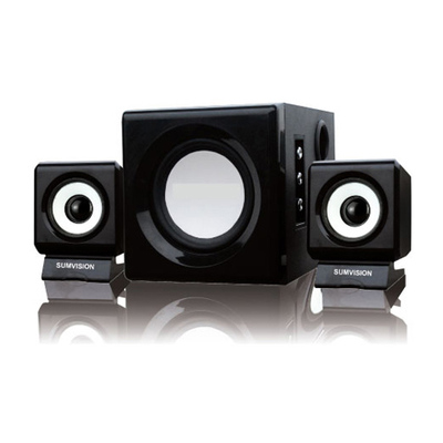 sumvision n cube pro 2 1 10 watt speaker set falcon computers. Black Bedroom Furniture Sets. Home Design Ideas