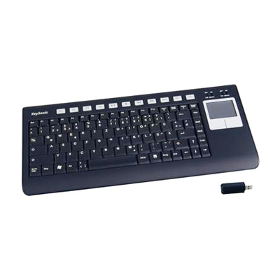 Keysonic Slimline Keyboard With Built In Mouse Pad