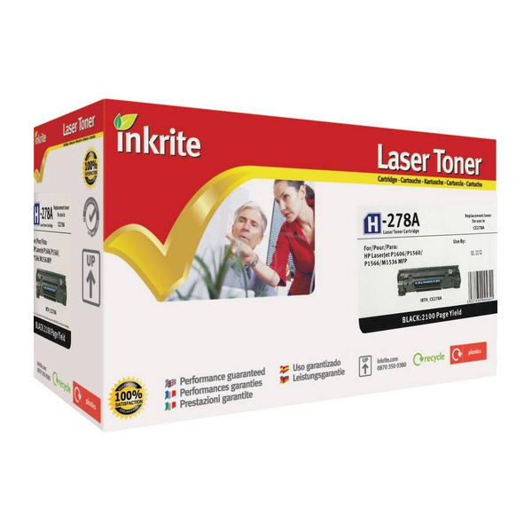 Inkrite  Toner compatible with HP and Canon (please see description for models)