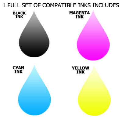 Inkrite  Brother DCP130c MFC240c MFC440cn - LC51 LC970 LC1000 BCMY