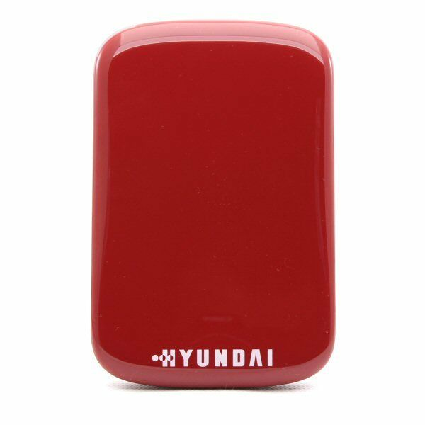 Hyundai H25000RED 500GB 2.5 Inch USB3.0 Mobile External Portable Hard Drive - Red - SPECIAL OFFER