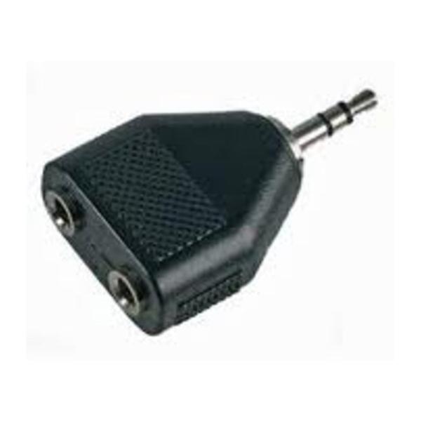 Generic HP35JS Head Phone 3.5mm Jack Splitter (1 To 2)