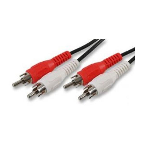 Generic  2x Phono Plug To 2x Phono Plug 5mtr