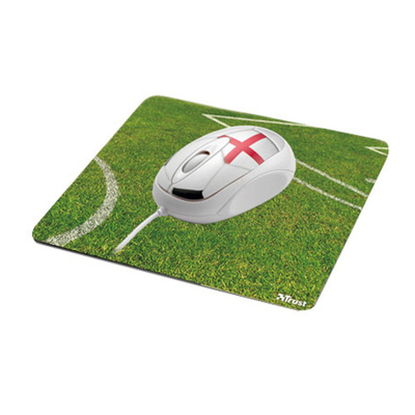 Trust  Football Mouse with Mousepad - England