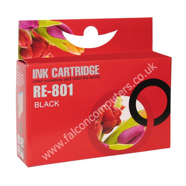 G G Ninestar  Compatibe Ink Cartridge wiht Epson 801 (Black)