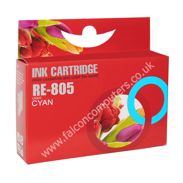 G G Ninestar  Compatibe Ink Cartridge with Epson 805 ( Light Cyan)