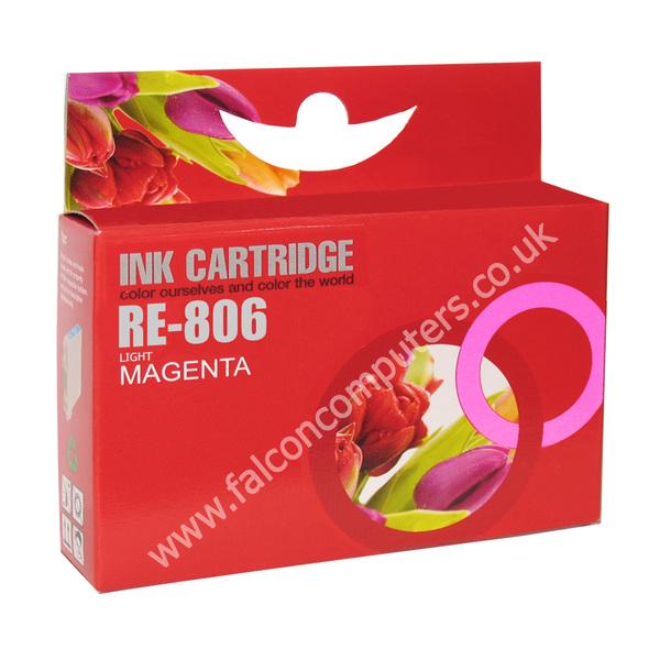 G G Ninestar  Compatibe Ink Cartridge with Epson 806 (Light Magenta)