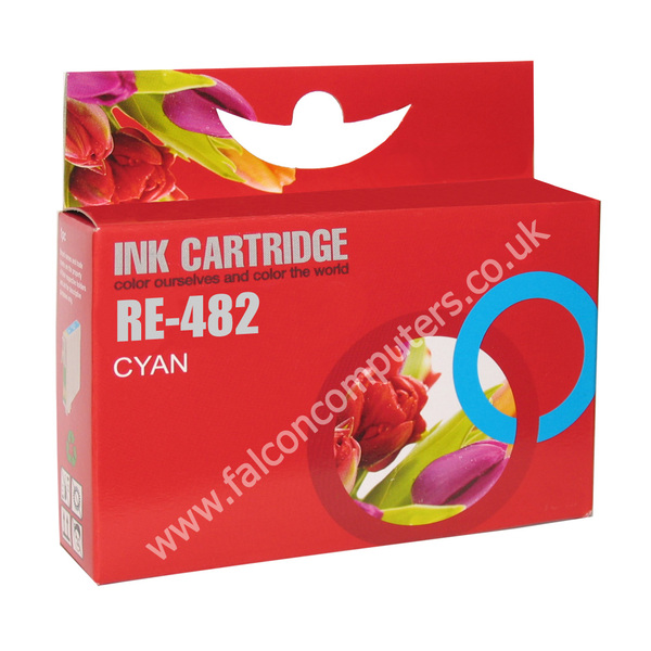 G G Ninestar G&G Ninestar  Compatible Cyan Ink Cartridge T0482 R200/R300/RX500/RX600 (GG ninestar Inks)
