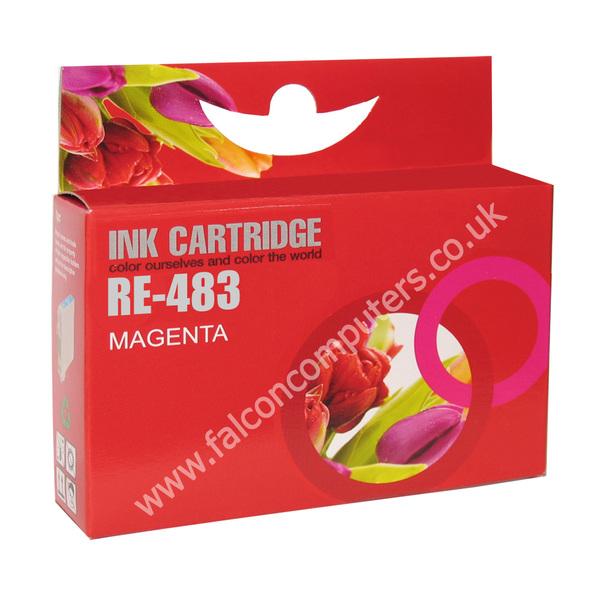 G G Ninestar G&G Ninestar  Compatible Magenta Ink Cartridge TO483 R200/R300/RX500/RX600 (GG ninestar Inks)