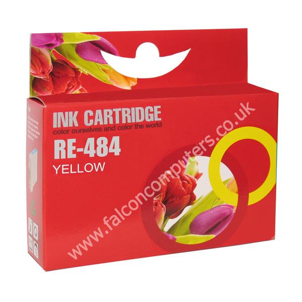 G G Ninestar G&G Ninestar  Compatible Yellow Ink Cartridge TO484 R200/R300/RX500/RX600 (GG ninestar Inks)