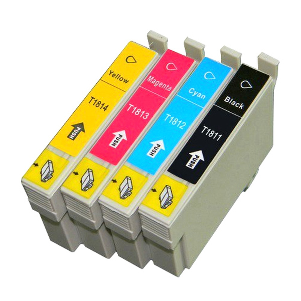 G G Ninestar  Epson Compatible 18XL T1811/12/13/14 Full Set