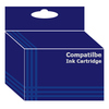 Compatible Inks  Multi Pack 1x Colour(C/Y/M) 1 x Black for C42/C44/C46-(TO37) Image