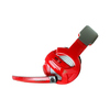 Gamdias  Hebe Virtual 7.1 USB Gaming Headset - Red/Black Image