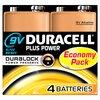 Duracell  Duracel Plus Power 9v Battery 4 Pack Image