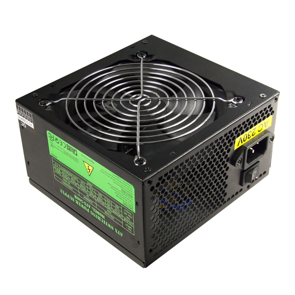 CIT  500W Builder PSU PFC 8cm Fan CE 2 x SATA (Black)