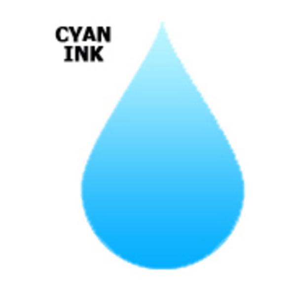 Compatible Inks Inks Generic  Colour(CYAN)-C64/C66/C84/C86/CX3600/CX3650/CX6400/CX6600