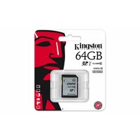 Kingston  64GB SDXC SD Flash Card (Class 10) 45MB/PS READ