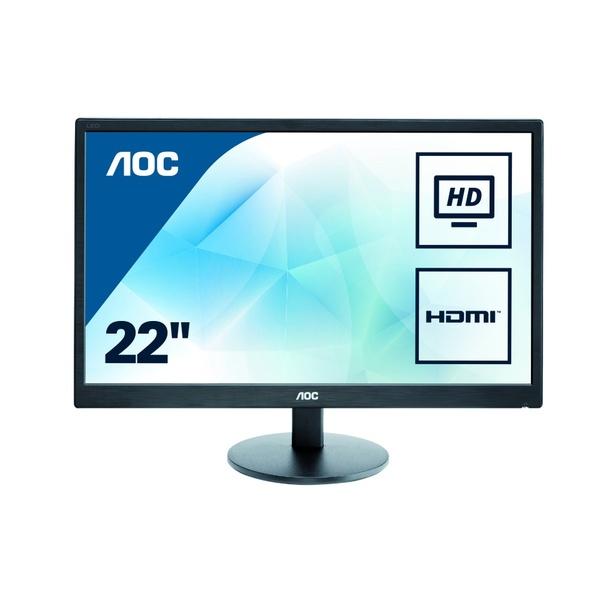 Aoc E2270SWHN 21.5 Inch Widescreen LED 1920 X 1080 5Ms TFT VGA / HDMI