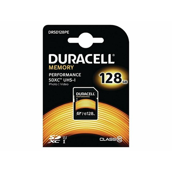 Duracell  128Gb Secure Digital Card HDXC (CLASS 10) UHS-1