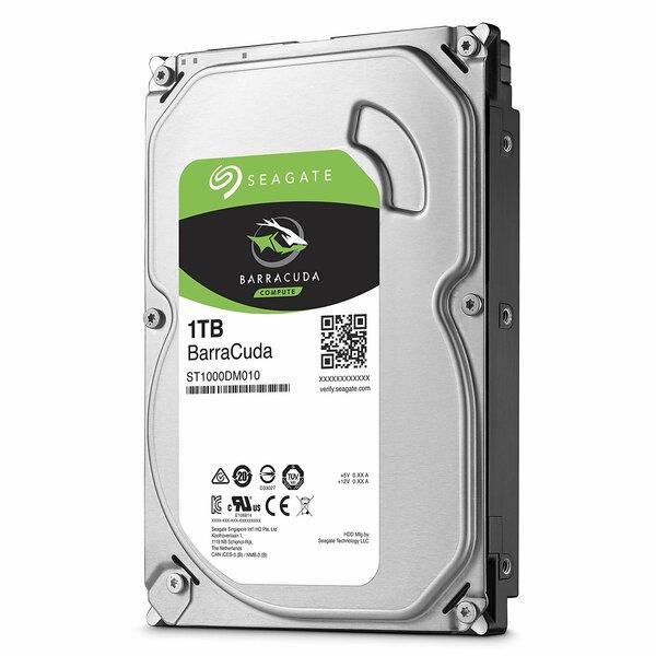Seagate  1TB Seagate SATA 3 6gb/ps HDD 7200RPM - 64Mb Cache