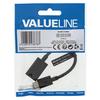 Value Line  USB 3.0 Cable USB-C Male - A Female 0.15 m Black Image