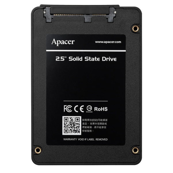 Apacer AP240GAS340G-1 240GB 2.5` SSD, SATA III - 6Gb/s, Up to 505MB/s Read, 410MB/s Write