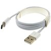 LMS DATA  1m Type C Data and Charge Cable - White Image
