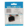 Value Line  Internal Power Cable SATA 15-Pin Male - Molex Female 0.15 m Image