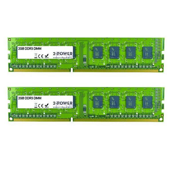 2 Power  8Gb DDR3 1600 Multi Speed Kit 2x 4GB (1066/1333/1600)