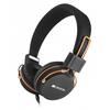 Canyon  Fold away Headset - Black And Orange Image