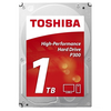 Toshiba HDWD110UZSVA 1Tb 3.5 Inch High-Performance Hard Drive 7200 Prm, 64Mb Cache - Special Offer Image