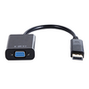Cable Expert  DISPLAYPORT MALE - VGA FEMALE ADAPTER, 15cm, black upto 1920 x 1200 x 60 Hz or 1080P Image