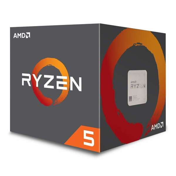 AMD  Ryzen 5 Gen2 Six Core 2600 3.90GHz (Socket AM4)  Retail Boxed