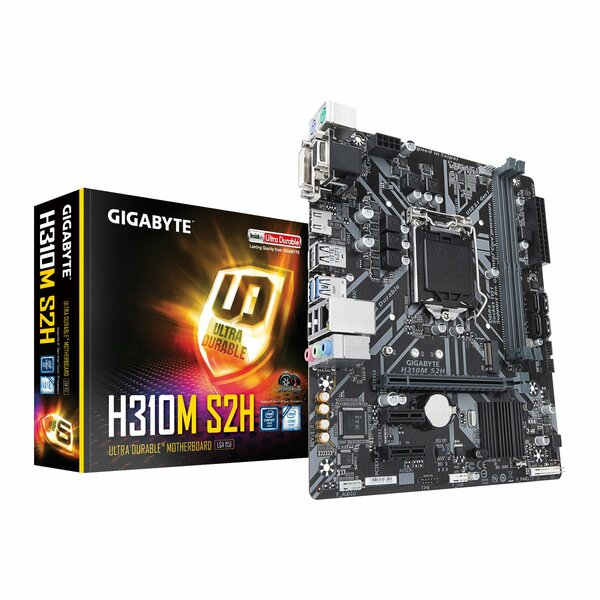 Gigabyte  Intel H310m S2h Coffee Lake Micro Atx Motherboard - Coffeelake Cpus Only