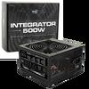 Aerocool  Integrator 500W PSU 12cm Black Fan Active PFC TW Caps UK Cable - Retail Boxed Image