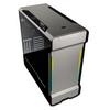 Phanteks  Enthoo Evolv X Digital Midi Tower Glass Gaming Case - Galaxy Silver Image