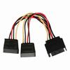 Value Line  Internal Power Cable SATA 15-Pin Male - 2x SATA 15-Pin Female 0.15 m Image
