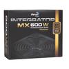 Aerocool  Integrator 600W Semi Modular Psu 12Cm Black Fan Active Pfc Image