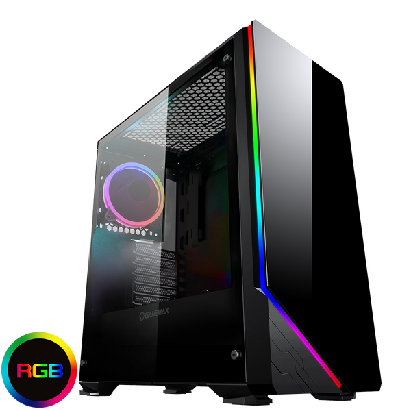 GameMax Game Max  Shadow RGB Mid-Tower Tempered Glass Gaming Case