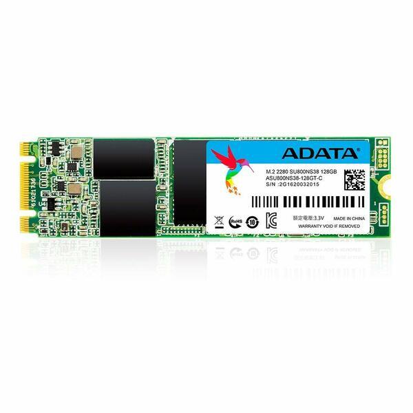 Adata  256GB Ultimate SU800 M.2 SSD, M.2 2280, SATA3, 3D NAND, R/W 560/300 MB/s