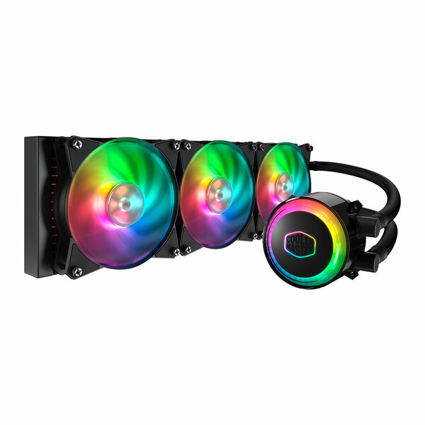 Coolermaster  MasterLiquid ML360R Addressable RGB All-in-one CPU Liquid Cooler Dual Chamber