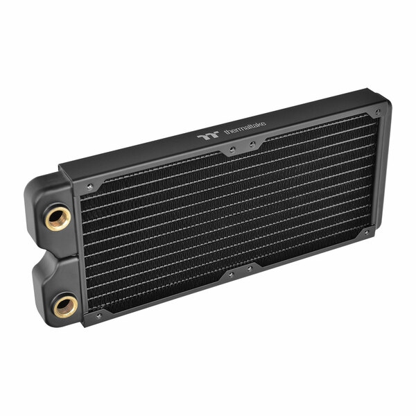 Thermaltake CL-W227-CU00BL-A Pacific C240 240mm Copper Water Cooling Radiator CL-W227-CU00BL-A