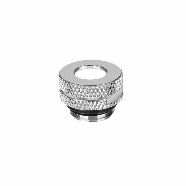 Thermaltake  Pacific G1/4 Pressure Equalizer Stop Plug with O-Ring - Chrome