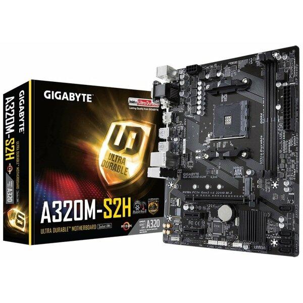 Gigabyte  AMD A320 (Socket AM4) RYZEN DDR4 Micro ATX Motherboard