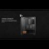 Aerocool ACOOLCSCYLONPROTG Cylon Pro Black RGB LED Midi Case with Tempered Glass Panel Image