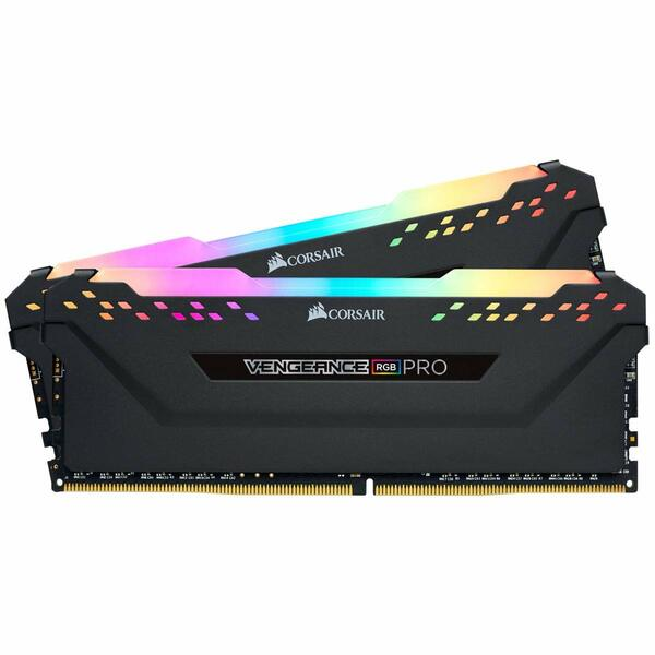 Corsair  Vengeance RGB Pro 16GB Memory Kit (2 x 8GB), DDR4, 3600MHz (PC4-28800), CL18  - 25th Year Anniversary Special Offer
